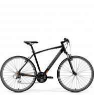 Велосипед Merida Crossway 20-V (2019) MattBlack/Orange
