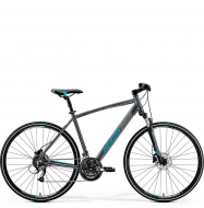 Велосипед Merida Crossway 40-D (2019) DarkSilver/Blue