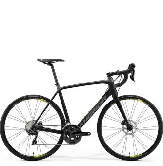 Велосипед Merida Scultura Disc 4000 (2019) MattBlack/NeonYellow
