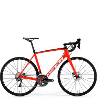 Велосипед Merida Scultura Disc 6000 (2019) MattRed/White