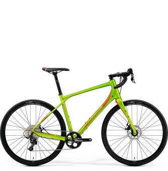 Велосипед Merida Silex 300 (2019) MattOlive/Red