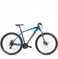 Велосипед Kross Level 1.0 (2019) Navy Blue/Blue/Silver Matte