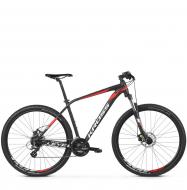 Велосипед Kross Level 1.0 (2019) Black/Red/White Matte