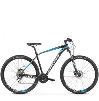 Велосипед Kross Level 2.0 (2019) Black/Blue/White Glossy