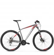 Велосипед Kross Level 2.0 (2019) Graphite/Red/Silver Matte