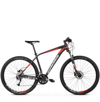 Велосипед Kross Level 3.0 (2019) Black/Red/White Matte