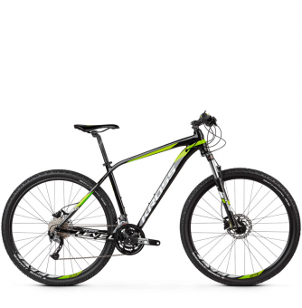 Велосипед Kross Level 3.0 (2019) Black/Lime/White Glossy