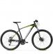 Велосипед Kross Level 3.0 (2019) Black/Lime/White Glossy 1