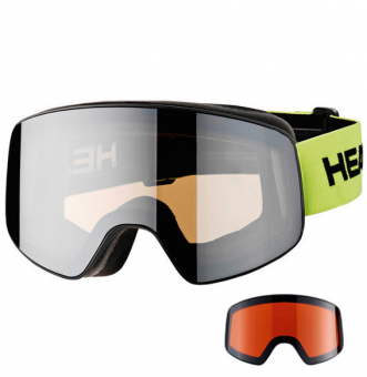 Маска Head Horizon Race DH + SpareLens silver (2018)