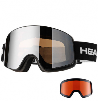 Маска Head Horizon Race black + SpareLens (2018)