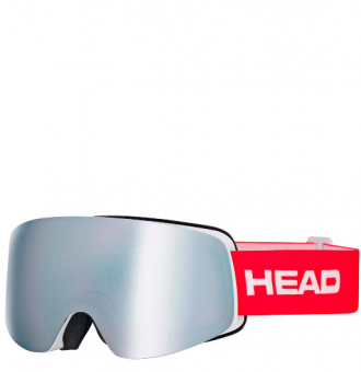 Маска Head Infinity FMR silver/red (2018)