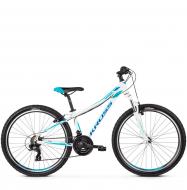 Велосипед Kross Lea 1.0 (2019) White/Blue Glossy