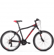 Велосипед Kross Lea 1.0 (2019) Black/Raspberry/Graphite Matte