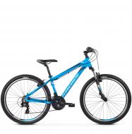 Велосипед Kross Hexagon 1.0 (2019) Blue/Silver/Black Matte