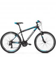 Велосипед Kross Hexagon 1.0 (2019) Black/White/Blue Glossy