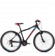 Велосипед Kross Lea 2.0 (2019) Black/Raspberry/Violet Matte