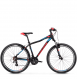 Велосипед Kross Lea 2.0 (2019) Black/Raspberry/Violet Matte 1