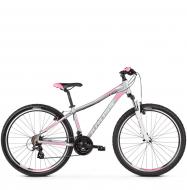 Велосипед Kross Lea 2.0 (2019) Silver/White/Pink Matte