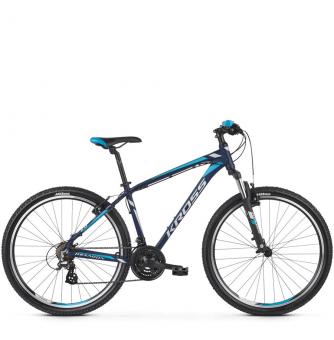 Велосипед Kross Hexagon 2 (2019) Navy Blue/Silver/Blue Matte