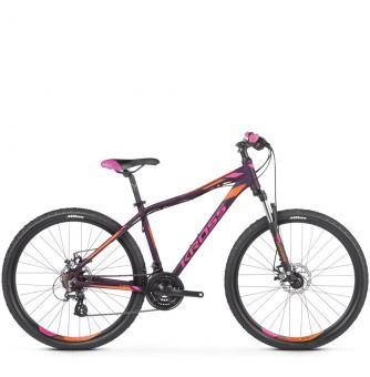 Велосипед Kross Lea 3.0 (2019) Violet/Pink/Orange Matte