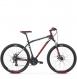 Велосипед Kross Hexagon 3 (2019) Black/Red/Silver Matte 1