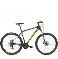Велосипед Kross Hexagon 3 (2019) Black/Lime/Silver Matte