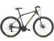 Велосипед Kross Hexagon 3 (2019) Black/Lime/Silver Matte 1