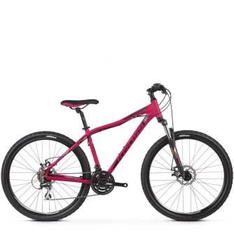 Велосипед Kross Lea 4.0 (2019) Pink/Silver/Black Matte