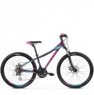 Велосипед Kross Lea 4.0 (2019) Violet/Pink/Blue Glossy