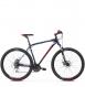 Велосипед Kross Hexagon 4.0 (2019) Navy Blue/Red/Silver Glossy 1
