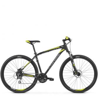 Велосипед Kross Hexagon 5.0 (2019) Black/Graphite/Lime Matte