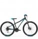 Велосипед Kross Lea 5.0 (2019) Black/Turquoise Glossy 1