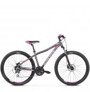 Велосипед Kross Lea 5.0 (2019) Graphite/Pink/Violet Matte