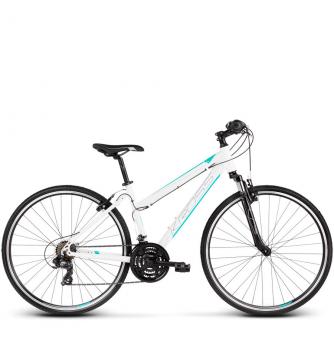 Велосипед Kross Evado 1.0 (2019) White/Turquoise Glossy