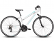 Велосипед Kross Evado 1.0 (2019) White/Turquoise Glossy 1
