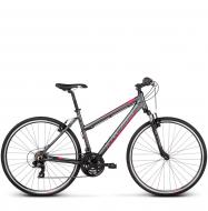 Велосипед Kross Evado 1.0 (2019) Graphite/Raspberry Matte