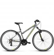 Велосипед Kross Evado 2.0 (2019) Graphite/Lime Glossy