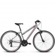 Велосипед Kross Evado 2.0 (2019) Silver/Red Matte
