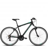 Велосипед Kross Evado 2.0 (2019) Black/Green Matte