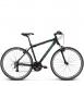 Велосипед Kross Evado 2.0 (2019) Black/Green Matte 1