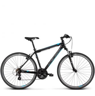 Велосипед Kross Evado 2.0 (2019) Black/Blue Glossy