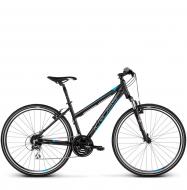 Велосипед Kross Evado 3.0 (2019) Black/Blue Matte