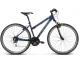 Велосипед Kross Evado 3.0 (2019) Navy Blue/Green Glossy 1