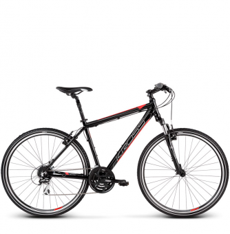 Велосипед Kross Evado 3.0 (2019) Black/Red Glossy