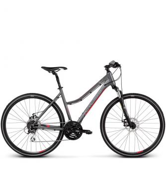 Велосипед Kross Evado 4.0 (2019) Graphite/Pink Matte