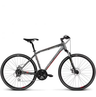 Велосипед Kross Evado 4.0 (2019) Graphite/Red Matte