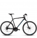Велосипед Kross Evado 4.0 (2019) Black/Blue Matte 1