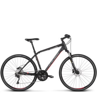 Велосипед Kross Evado 7.0 (2019) Black/Steel Matte