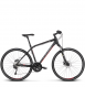 Велосипед Kross Evado 7.0 (2019) Black/Steel Matte 1