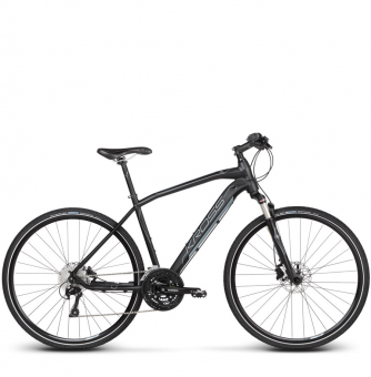 Велосипед Kross Evado 8.0 (2019) Black/Gray Matte